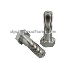 zinc plated stainless steel hexagon screw in table legs