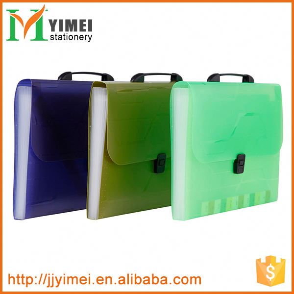 Latest product different types plastic pp expanding file from manufacturer