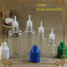 Hot sale 5ml PET bottle with child proof and sealed cap steam turbine atomizer recycled pet flakes made in Guangzhou