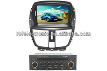 Car DVD player with bluetooth for Peugeot 207
