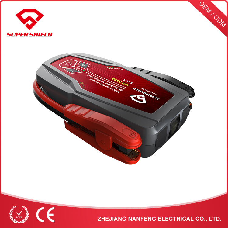 NANFENG Promotional Item Vehicle Battery Charger 12V 40500Mah Peak Jump Starter
