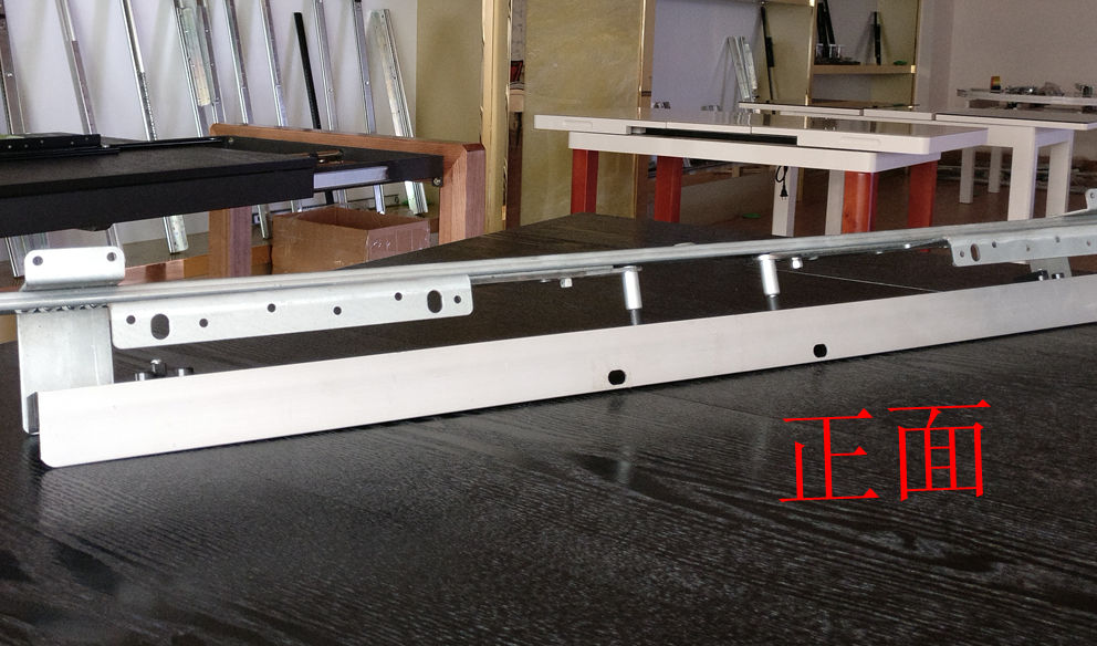 Integrated automatic lifting dinnin table slide(extension table mechanism)