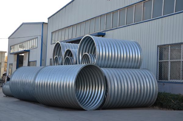 Alibaba trade assure large diameter corrugated galvanized