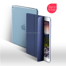 Fanshion10''tri-fold Smart magnetic Cover Leather tablet pc case for Ipad air/Ipad 5