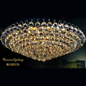 luxury glow pendant lamp and modern hanging light chandelier for home use
