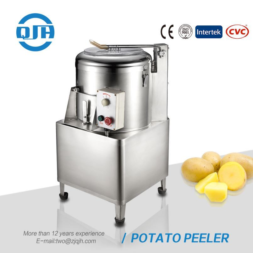 Professional industrial automatic potato fruit and vegetable peeling machine electric peeler for sale