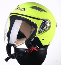 2015 New designed high quality half face helmet with single visor--ECE/DOTcertification