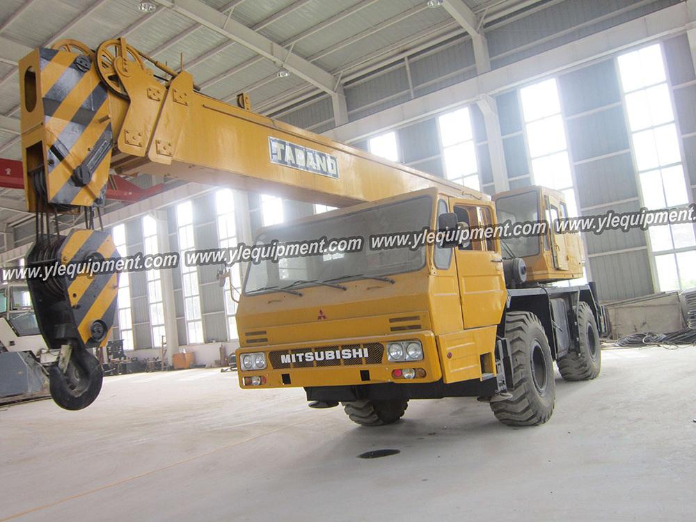 Power Wheels Crane : Tadano gr n ton used rough terrain wheel crane buy