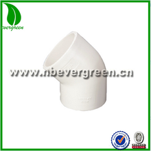 22.5 degree elbow pvc fitting in hot sales