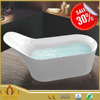 Cheap walk in White plastic portable bathtub for adults