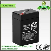 Rechargeable Storage 6V 4.5AH long way lamp battery