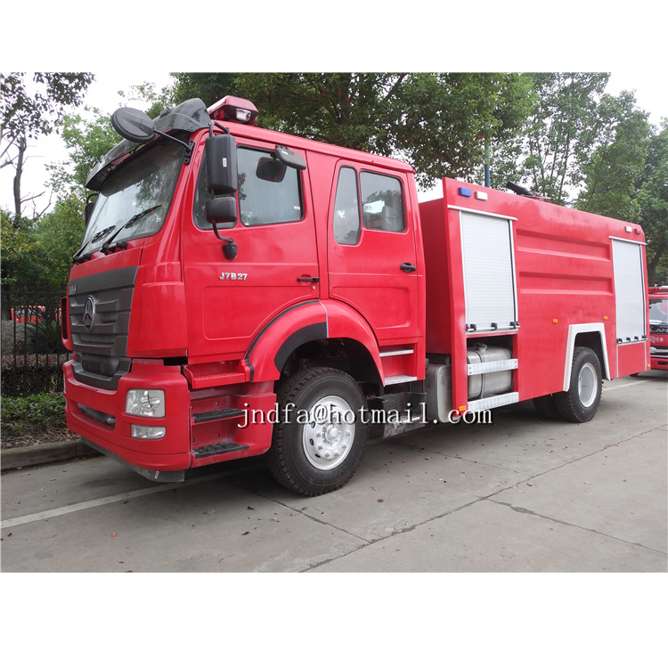 HOMAN water foam fire truck for sale
