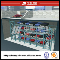Professional automated circulating rotary car parking system