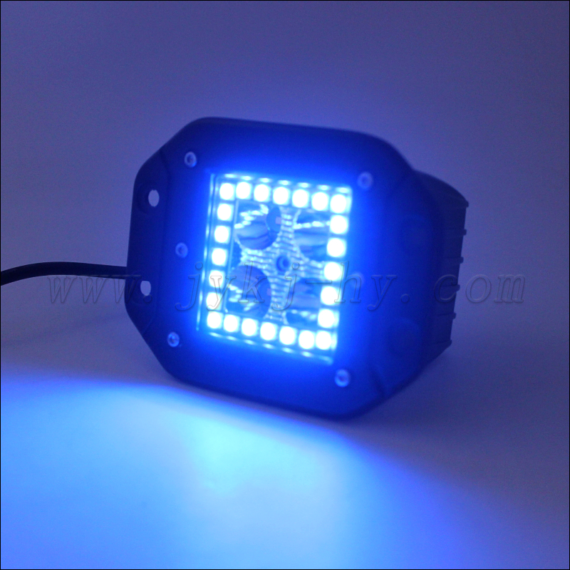 Flush Mount 20W C <strong>R</strong> E Es 4D RGB LED Pod Lights for Car