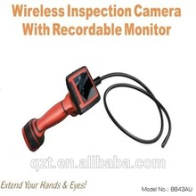 3.5inch LCD Screen with DVR 3x Zoom OD 9mm Industrial inspection camera Video Borescope 8843AU