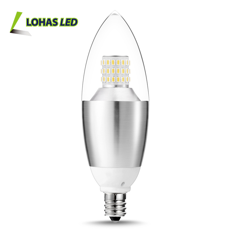 LOHAS LED Candle Light 3W E14 LED Candle Bulb 30-Watt Light Bulbs Equivalent Candle Bulb