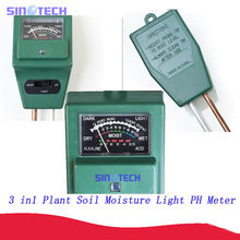 3 in 1 Plant Soil moisture light PH meter 7029