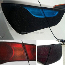 Top Grade glitter light film / Car Tint Film / Car Headlight Wrap Film
