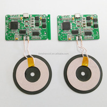 Supply all kinds of pcb coil, QI wireless charging module PCBA