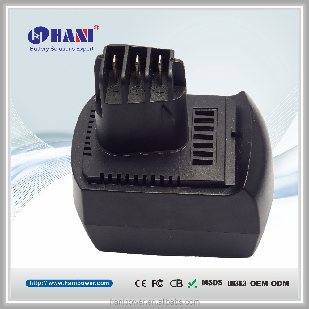 Power Tool 12V 2000mAh Li-ion Battery For Metabo BSZ12 BS12SP