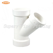 Plastic Drain Pipe Fitting 2 inch Tee Reducer PVC Pipe And Fittings /ASTM PVC Pipe Prices