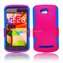 new product toolbox hybrid combo mesh case for Nokia lumia N8