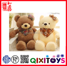 Christmas musical toy bear shape and electric plush animal dog toys