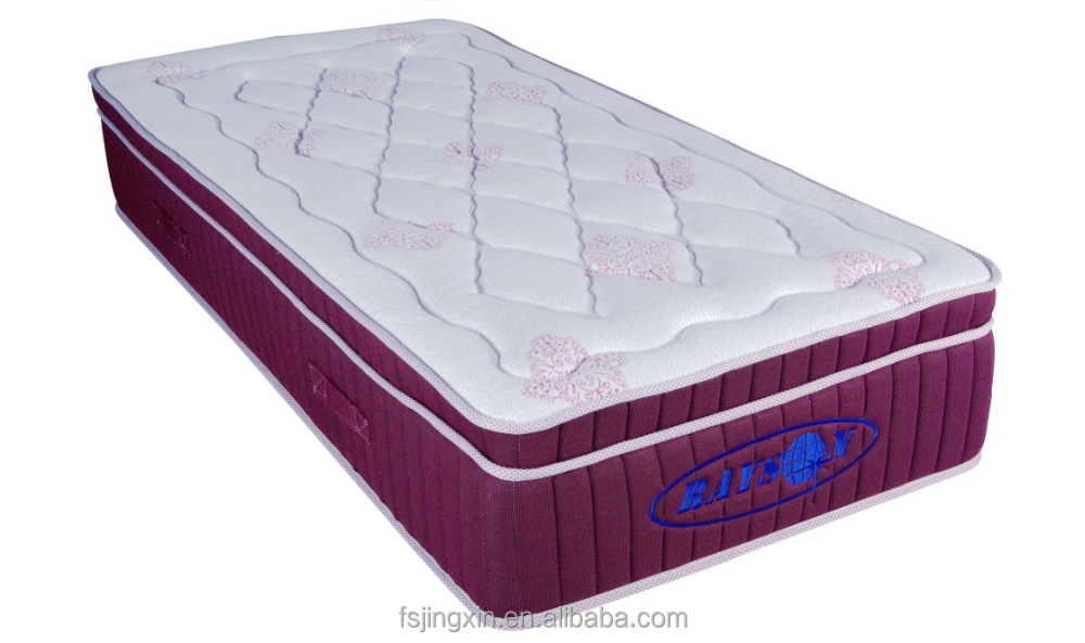ripple mattress with memory foam mattress topper for single bed mattress price