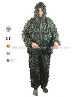 "Lightweight 100% Net Fabric Camouflage Hunting Suits ""Ghillie"""