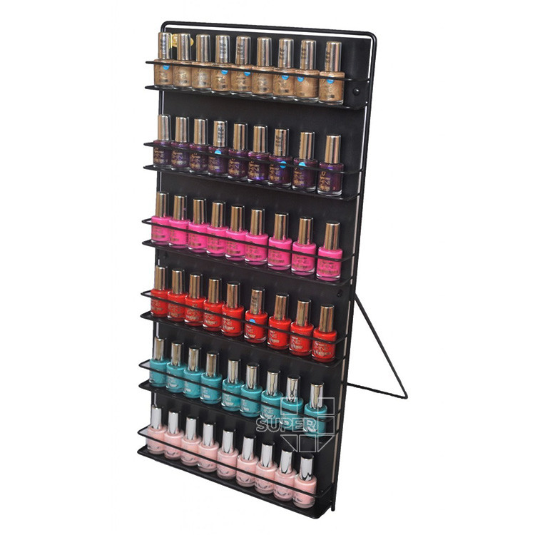 Wholesale custom acrylic floor stand nail polish display - Rangement mural vernis a ongles ...