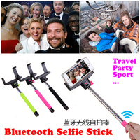 Royal Z07-5(V2) Universal high quality wireless selfie stick with bluetooth shutter button,Selfie Stick for iphone for Samsung