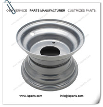 ATV Rim for Tire 145/70-6 (3 Holes) in SILVER color