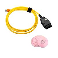2016 ESYS 3.23.4 V50.3 Data Cable For BMW ENET Ethernet to OBD OBDII 2 Interface Data E-SYS ICOM Coding for F-serie Free Shippin