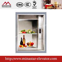 china a large hotel restaurant elevator save manpower lift five-star hotel five-star hotel lift