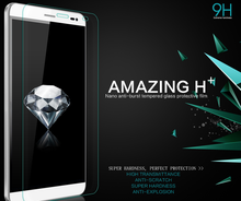 Ultra-clear anti-scratch 9H 2.5D curved edge tempered glass for Huawei G8 and p9