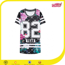 Custom made Hot sale summer american casual dress with printing,sportswear dress