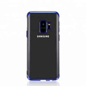 high quality Ultra thin electroplated TPU case for Galaxy S9 silicone gel case