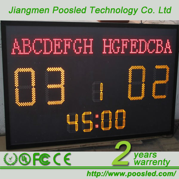 stadium scoreboard led display \ electronic football score boards \ score