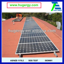 High Quality 10KW Solar Flat Roof PV Panel Mounting System Best Price