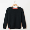 Children Custom Crewneck Black Color Sweatshirt Kids