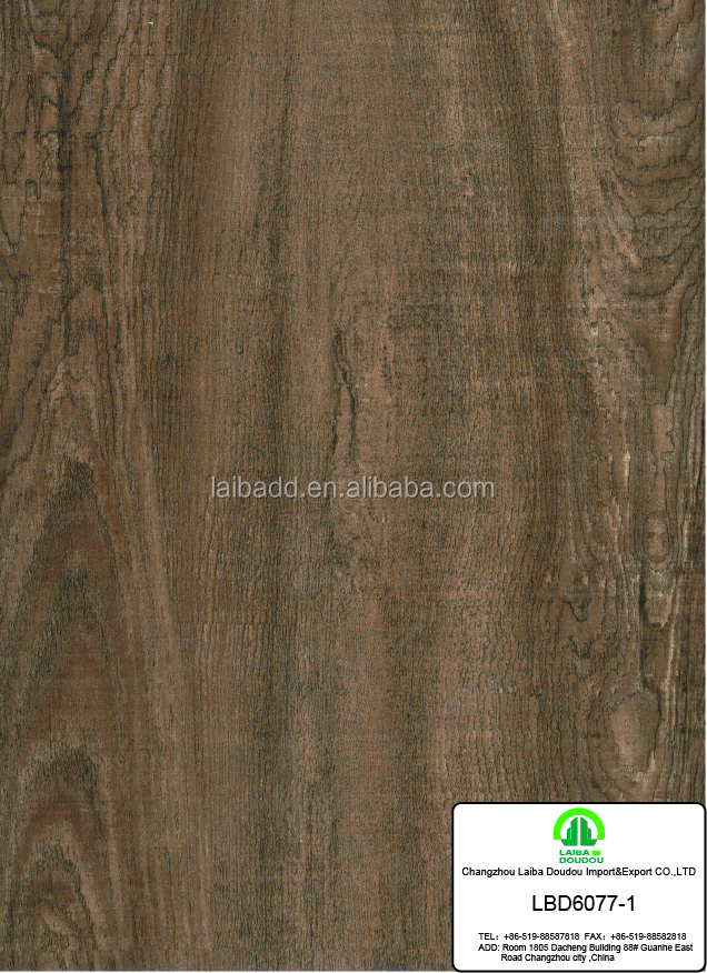 best selling pvc wood grain decoration film in china