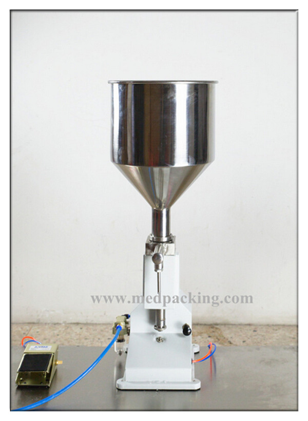Semi-automatic Liquid/Paste/Cream Filling Machine A02
