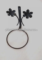 wrought iron flower pot stand