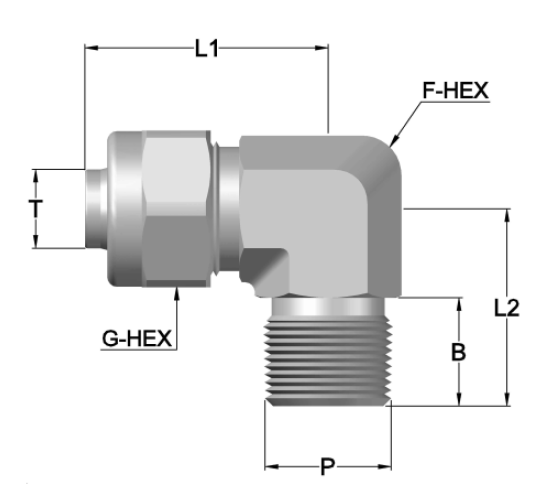 Stainless steel ss316 ss304,Pneumatic Fitting/Connector,Push on Fitting Metric Tube to male BSPT MALE ELBOW
