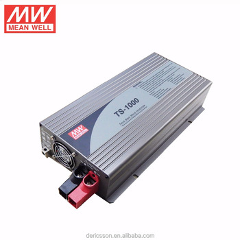 Original MEAN WELL TS-1000 1000w inverter DC/AC