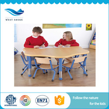High Quality Wholesale Custom Cheap children table and chair set wooden study table for children