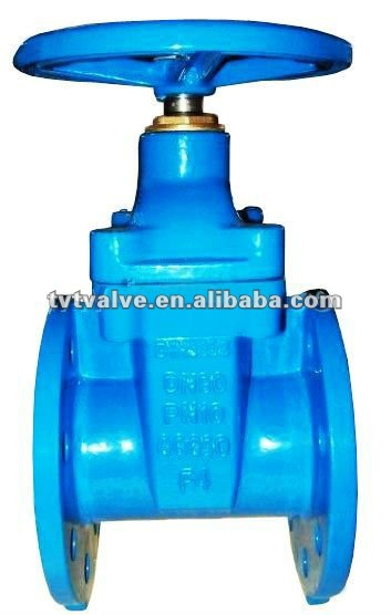 rubber seated flange gate valve