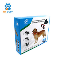 Dog Electric Fence Pet Collar System Waterproof Shock 2 Containment Training