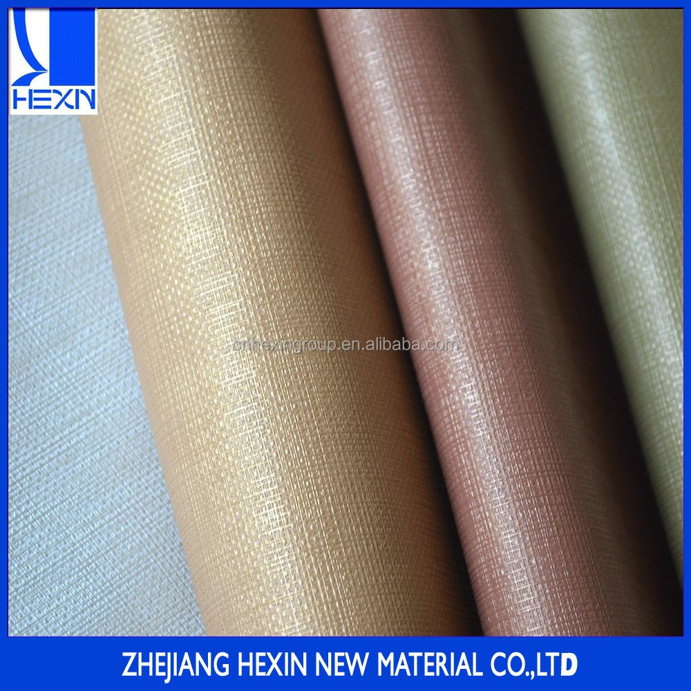 Hot sales 1.0mm textiles leather metallic pu decoration leather cover for sofa, chairs, wall and door covers