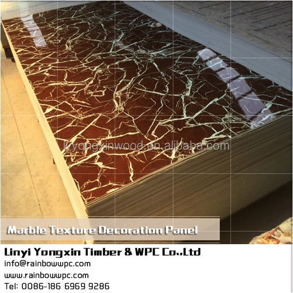 bifrost wpc 9001Cheap price imitation marble wall panel, UV coating marble texture board, Calcium Silicate Board